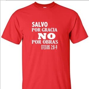 Other - EFESIOS 2:8-9 COTTON T-SHIRT